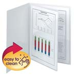 Smead Poly Four-Pocket Folder 87721, Holds up to 100 Sheets, Letter, Oyster