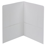 Smead Two-Pocket Heavyweight Folder 87861, Up to 100 Sheets, Letter, White
