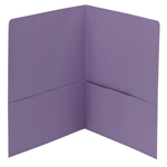 Smead Two-Pocket Heavyweight Folder 87865, Up to 100 Sheets, Letter, Lavender
