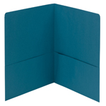 Smead Two-Pocket Heavyweight Folder 87867, Up to 100 Sheets, Letter, Teal