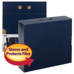 Smead MO® File Case Wrap 92030, Letter, Navy