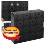 Smead MO® File Case Wrap 92031, Letter, Black Circles