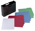 Poly File Box with FasTab® Hanging Folder and Viewables Labels Kit