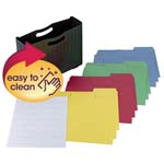 Poly File Box with SuperTab® Folder and Viewables Labels Kit