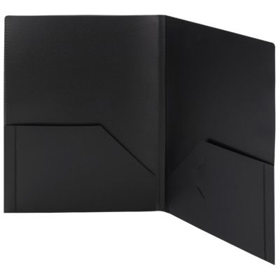 Frame View Poly Two Pocket Folders