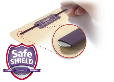 patented SafeSHIELD Coated Fastener Technology