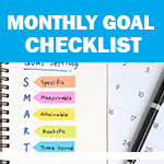 Checklist: Monthly Goals
