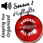 Podcast: 97 Organizing Tips and Highlights from Season Two of Keeping You Organized