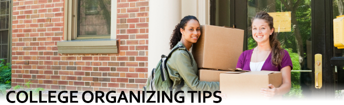 College Organizing Tips