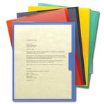Smead Organized Up® Poly Opaque Project Jacket 85740, Letter, Assorted Colors
