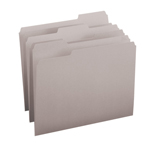 Colored File Folders with Single-Ply Tab