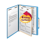 Smead Classification File Folder 13701, Reinforced 2/5-Cut Tab, 1 Divider, 2