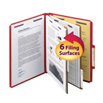 PressGuard® Classification Folders With Patented SafeSHIELD® Fasteners