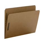 Smead Fastener File Folder 14813, 2 Fasteners, Reinforced Straight-Cut Tab, Letter, Kraft