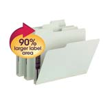 SuperTab® Pressboard Fastener Folders with SafeSHIELD® Fasteners