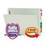 Smead End Tab Pressboard Fastener File Folder with SafeSHIELD® Fastener 34705, 2 Fasteners, 1