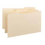 Smead Card Guide 55030, Plain 1/3-Cut Tab (Blank), 3
