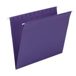 Smead Hanging File Folder 64436, Letter, Purple