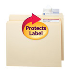 Smead Seal and View® Clear Label Protector 67600, Size 3-1/2
