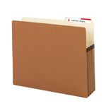 Smead File Pockets 73088, 2/5-Cut Tab Right Position, Guide Height, 3-1/2