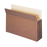 Smead File Pocket 74224, Straight-Cut Tab, 3-1/2