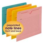 Notes File Jackets