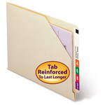 End Tab File Jackets with Shelf-Master® Reinforced Tab