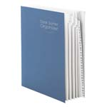 Smead Desk File/Sorter 89294, Daily (1-31), 31 Dividers, Letter, Dark Blue