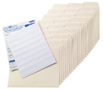 SuperTab® Manila Folder Kit